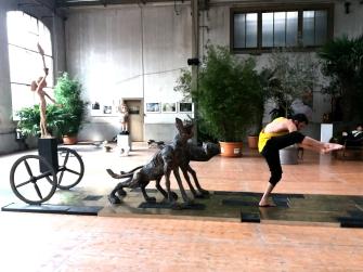 Ph: Mirjami Heikkinen / Urban Jungle performance, Bern, CH - 2016